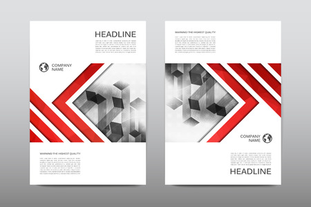 Brochure layout template flyer design vector, Magazine booklet cover abstract background Poster leaflet Vector Illustration