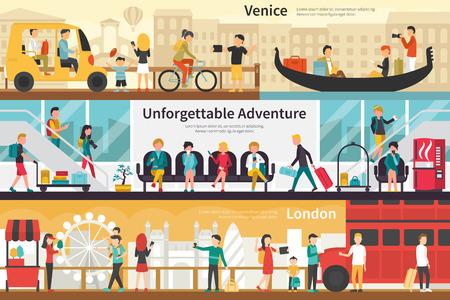 unforgettable: Venice Unforgettable Adventure London flat tourism interior outdoor concept web. Career Chart Fun