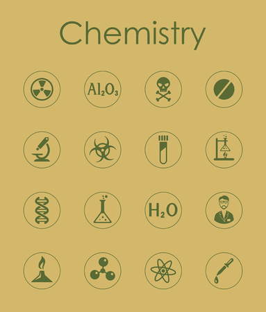 bunsen burner: It is a set of chemistry simple web icons