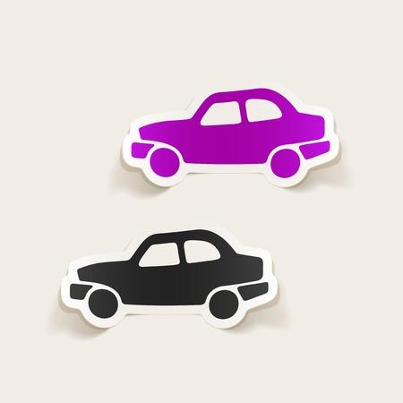 comfortable: realistic design element: car