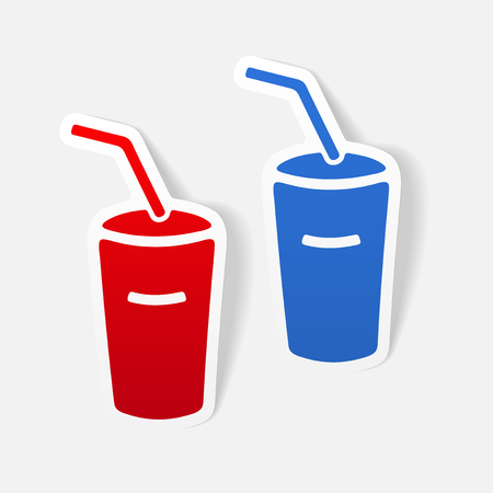realistic design element: soda Illustration