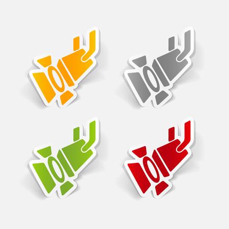 design element: spotlight Иллюстрация