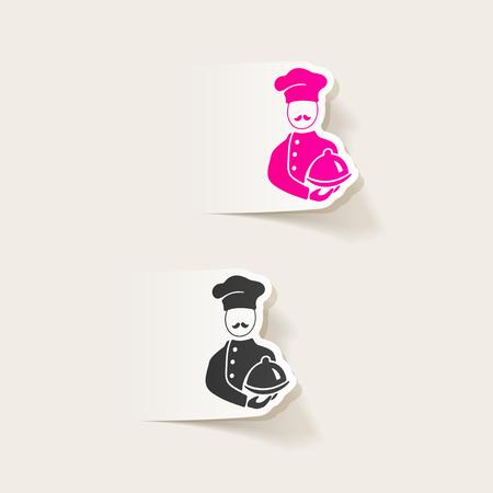 realistic design element. cook 版權商用圖片 - 76309570