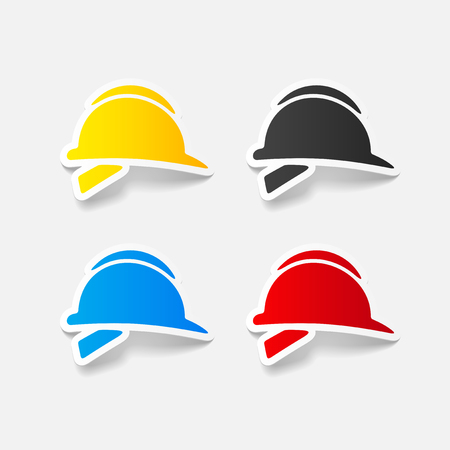 realistic design element: helmet Illustration