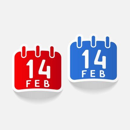realistic design element: Valentine