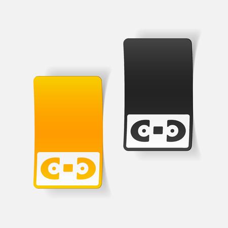 現実的なデザイン要素: ビデオテープ