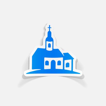 realistic design element: church