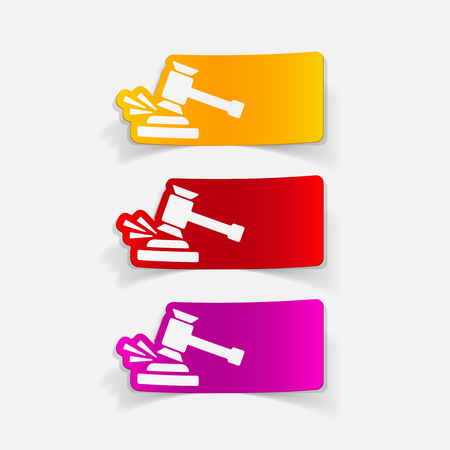 現実的なデザイン要素: 小槌