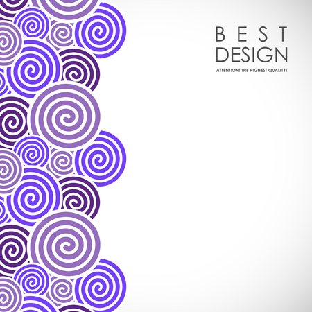 Spiral abstract background Stock Vector - 77979043