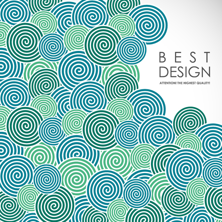Spiral abstract background Stock Vector - 78340242