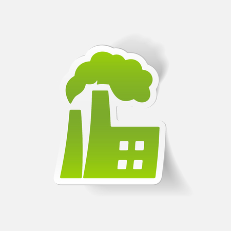 ecological adaptation: realistic design element: factory pipes