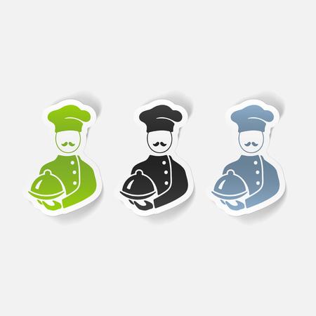 realistic design element. cook Stock Vector - 78418036
