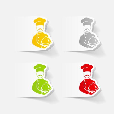 realistic design element. cook Stock Vector - 78340746