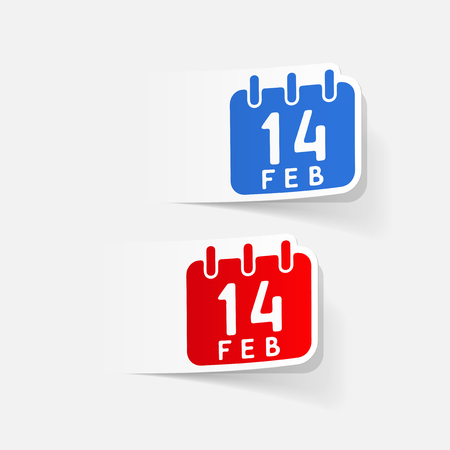A realistic design element: Valentine.