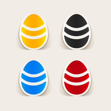 realistic design element: easter egg