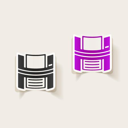 printed machine: realistic design element: printer