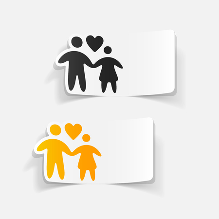 realistic design element: family
