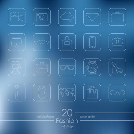 gift basket: Set of fashion icons