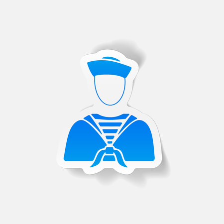 realistic design element. sailor