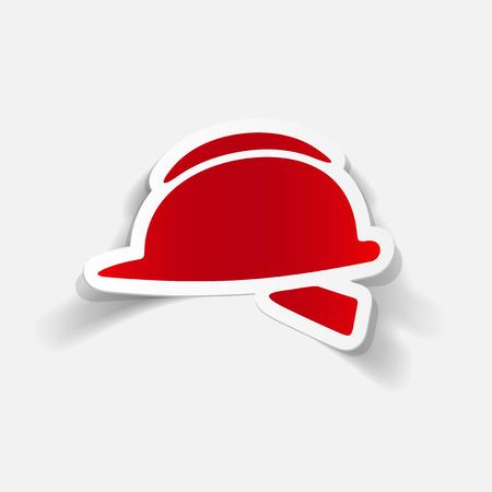 Réaliste élément de design: casque Banque d'images - 83792640