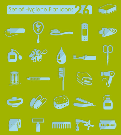 Set of hygiene icons