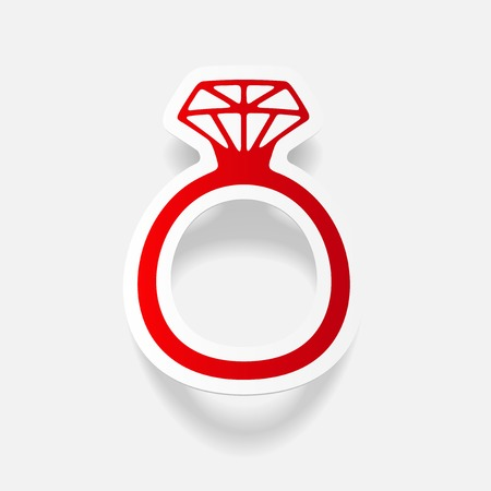 Realistisch ontwerpelement: ring
