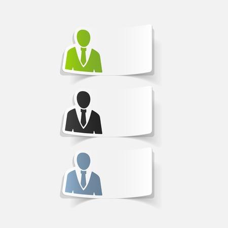 現実的なデザイン要素: オフィスの人々
