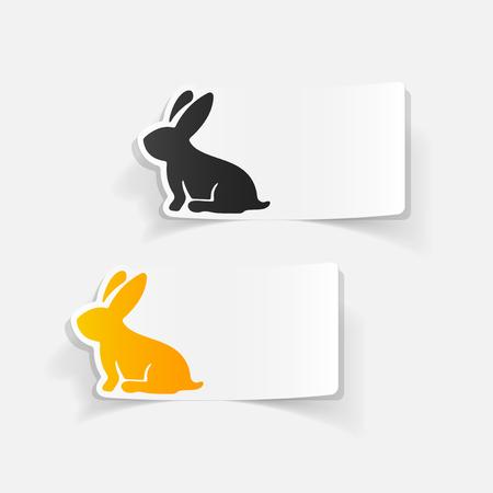 現実的なデザイン要素: イースターのウサギ