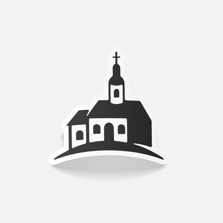 realistic design element: church