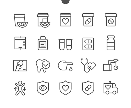 Heart UI Pixel Perfect Well-crafted Vector Thin Line Icons 48x48 Ready for 24x24 Grid for Web Graphics and Apps with Editable Stroke. Simple Minimal Pictogram
