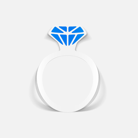 Realistic design element ring Stockfoto - 97356059