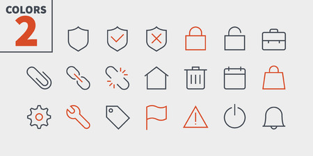 General UI Pixel Perfect Well-crafted Vector Thin Line Icons 48x48 Ready for 24x24 Grid for Web Graphics and Apps with Editable Stroke. Simple Minimal Pictogram Part 3-3 Illustration
