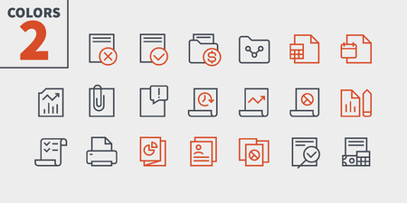 Report UI Pixel Perfect Well-crafted Vector Thin Line Icons 48x48 Ready for 24x24 Grid for Web Graphics and Apps with Editable Stroke. Simple Minimal Pictogram Part 3-3