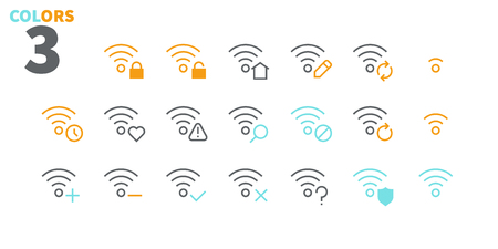 Network UI Pixel Perfect Well-crafted Vector Thin Line Icons 48x48 Ready for 24x24 Grid with Editable Stroke. Simple Minimal Pictogram Part 5-5