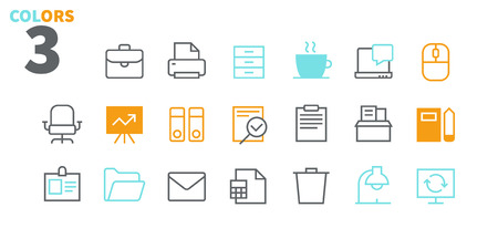 Office Outlined Pixel Perfect Well-crafted Vector Thin Line Icons 48x48 Ready for 24x24 Grid for Web Graphics and Apps with Editable Stroke. Simple Minimal Pictogram Part 1-1