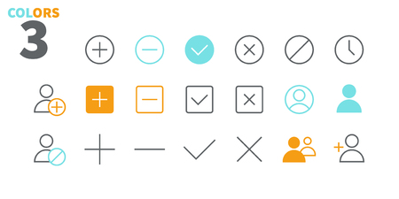 Settings UI Pixel Perfect Well-crafted Vector Thin Line Icons 48x48 Ready for 24x24 Grid for Web Graphics and Apps with Editable Stroke. Simple Minimal Pictogram Part 2-6
