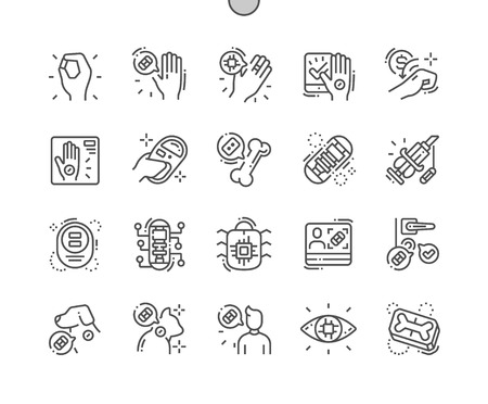 Chiping Well-crafted Pixel Perfect Vector Thin Line Icons 30 2x Grid for Web Graphics and Apps. Simple Minimal Pictogram  イラスト・ベクター素材