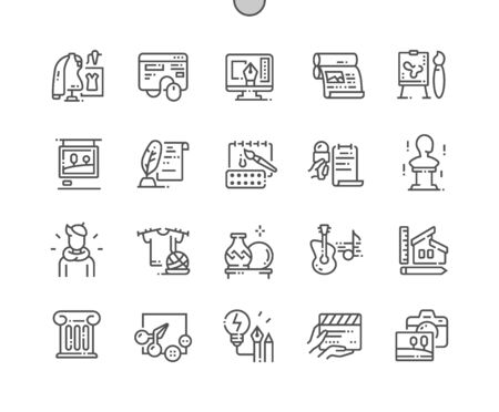 General Arts Well-crafted Pixel Perfect Vector Thin Line Icons 30 2x Grid for Web Graphics and Apps. Simple Minimal Pictogram