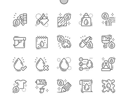 Color Well-crafted Pixel Perfect Vector Thin Line Icons 30 2x Grid for Web Graphics and Apps. Simple Minimal Pictogram