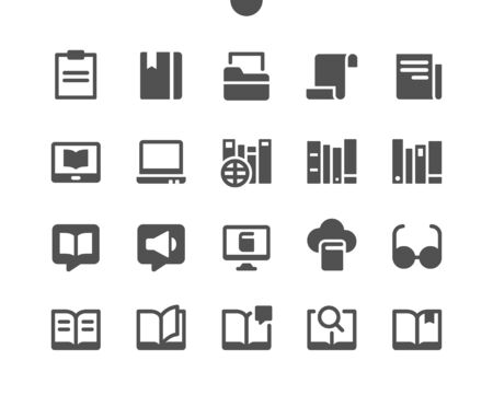 12 Reading v3 UI Pixel Perfect Well-crafted Vector Solid Icons 48x48 Ready for 24x24 Grid for Web Graphics and Apps. Simple Minimal Pictogram