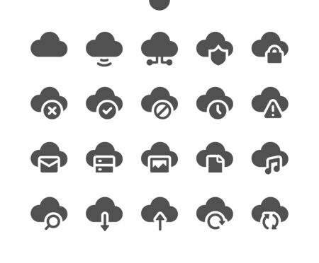 Network v1 UI Pixel Perfect Well-crafted Vector Solid Icons 48x48 Ready for 24x24 Grid for Web Graphics and Apps. Simple Minimal Pictogram