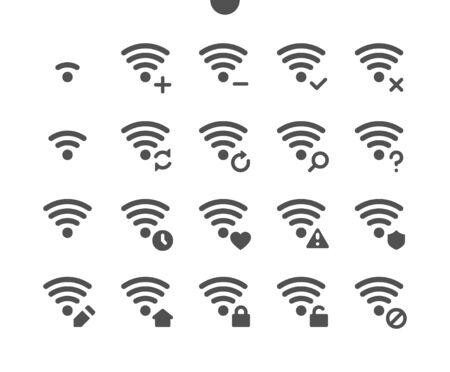 Network v5 UI Pixel Perfect Well-crafted Vector Solid Icons 48x48 Ready for 24x24 Grid for Web Graphics and Apps. Simple Minimal Pictogram