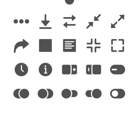 Audio_Video v5 UI Pixel Perfect Well-crafted Vector Solid Icons 48x48 Ready for 24x24 Grid for Web Graphics and Apps. Simple Minimal Pictogram
