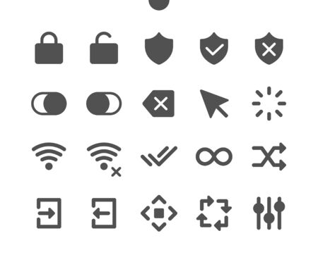 Control v3 UI Pixel Perfect Well-crafted Vector Solid Icons 48x48 Ready for 24x24 Grid for Web Graphics and Apps. Simple Minimal Pictogram