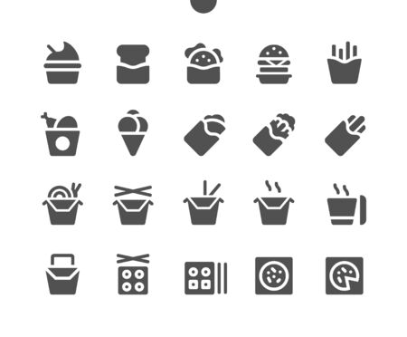 Takeaway (Take out) v2 UI Pixel Perfect Well-crafted Vector Solid Icons 48x48 Ready for 24x24 Grid for Web Graphics and Apps. Simple Minimal Pictogram