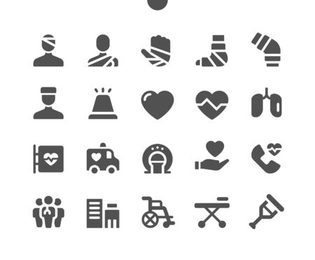 Medical v3 UI Pixel Perfect Well-crafted Vector Solid Icons 48x48 Ready for 24x24 Grid for Web Graphics and Apps. Simple Minimal Pictogram