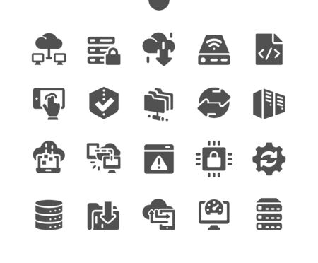 Hosting Well-crafted Pixel Perfect Vector Solid Icons 30 2x Grid for Web Graphics and Apps. Simple Minimal Pictogram