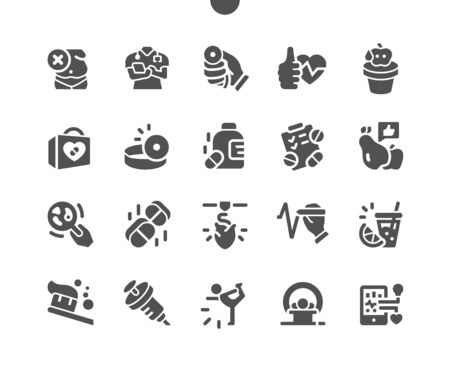Health Well-crafted Pixel Perfect Vector Solid Icons 30 2x Grid for Web Graphics and Apps. Simple Minimal Pictogram