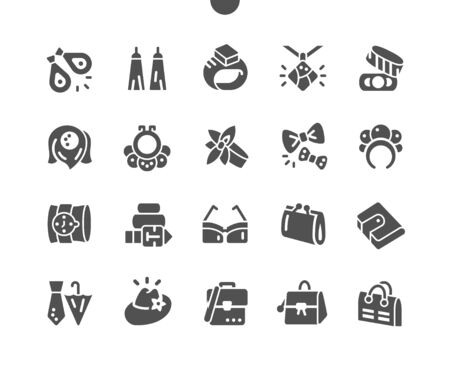 Accessories Well-crafted Pixel Perfect Vector Solid Icons 30 2x Grid for Web Graphics and Apps. Simple Minimal Pictogram