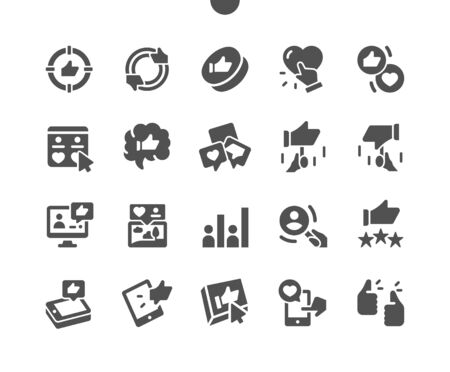 Votes Well-crafted Pixel Perfect Vector Solid Icons 30 2x Grid for Web Graphics and Apps. Simple Minimal Pictogram